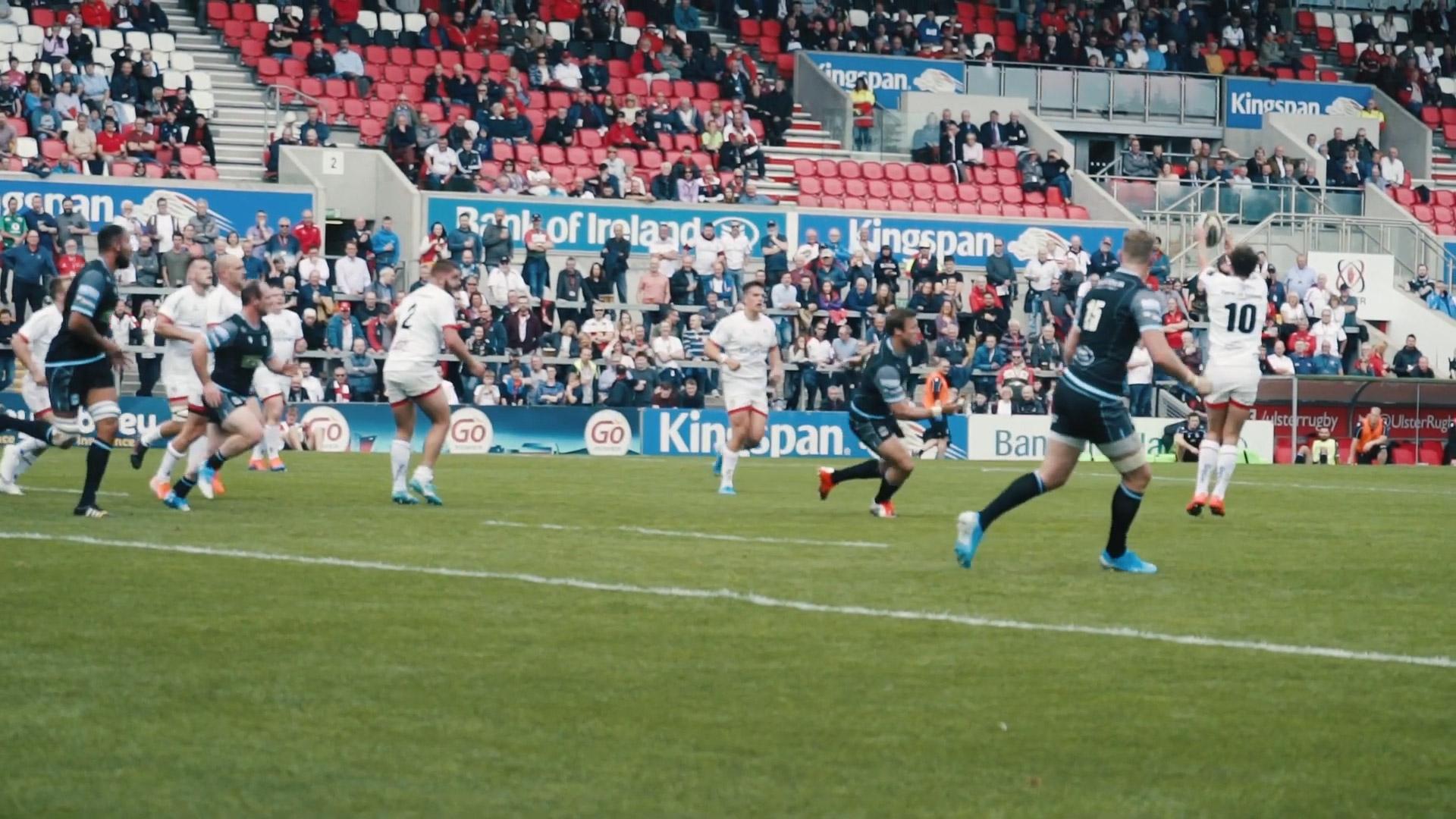 Craig Gilroy post-match Ulster v Glasgow friendly
