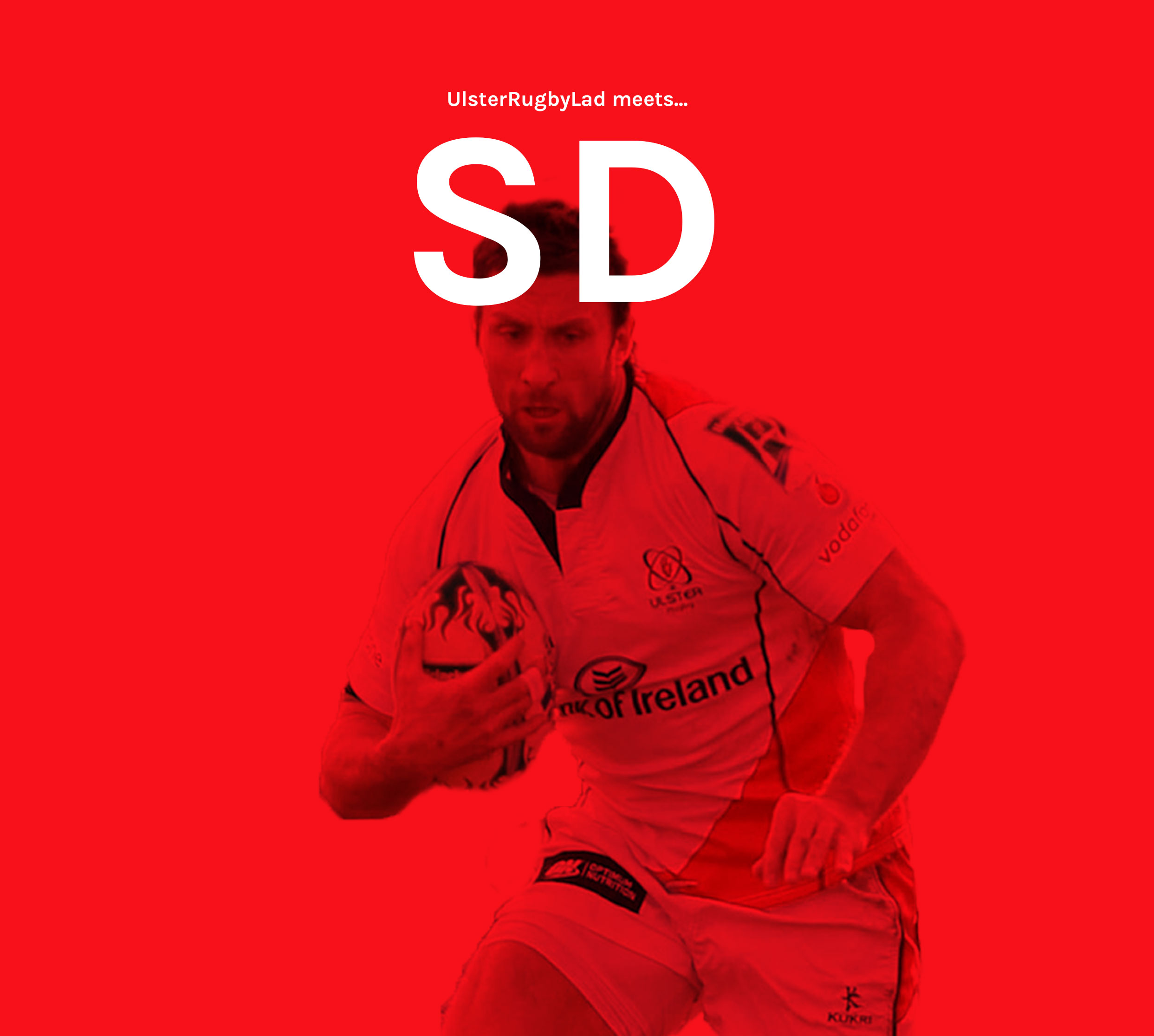 Ulster Rugby Lad meets… Simon Danielli